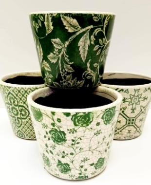 Antique Style Dutch Plant Pots