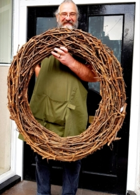 Bare grapevine Wreath